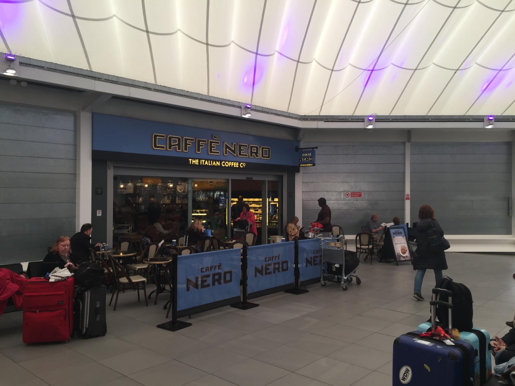 Heathrow Caffe Nero Central Bus Station