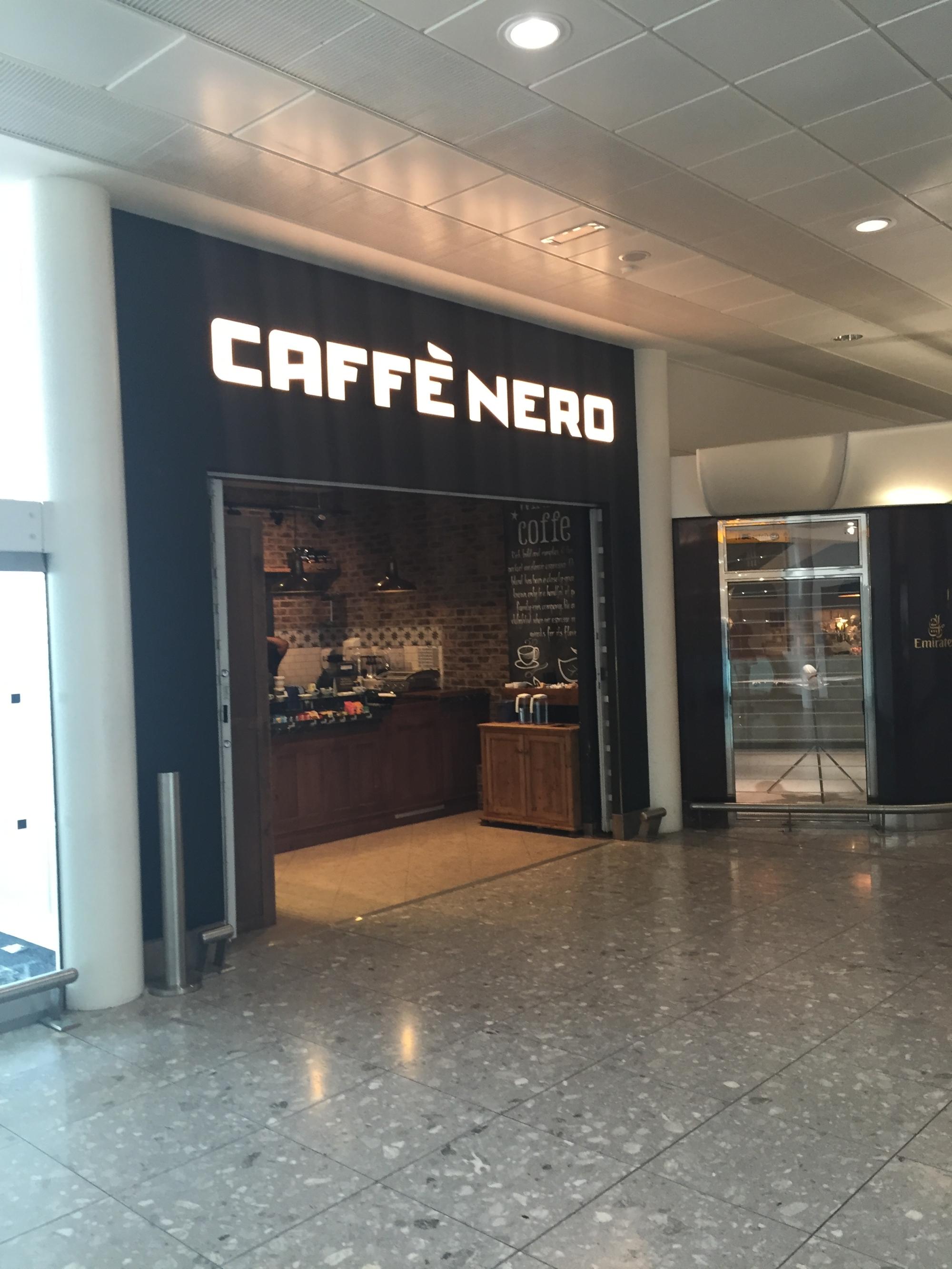 Heathrow T3 Caffe Nero