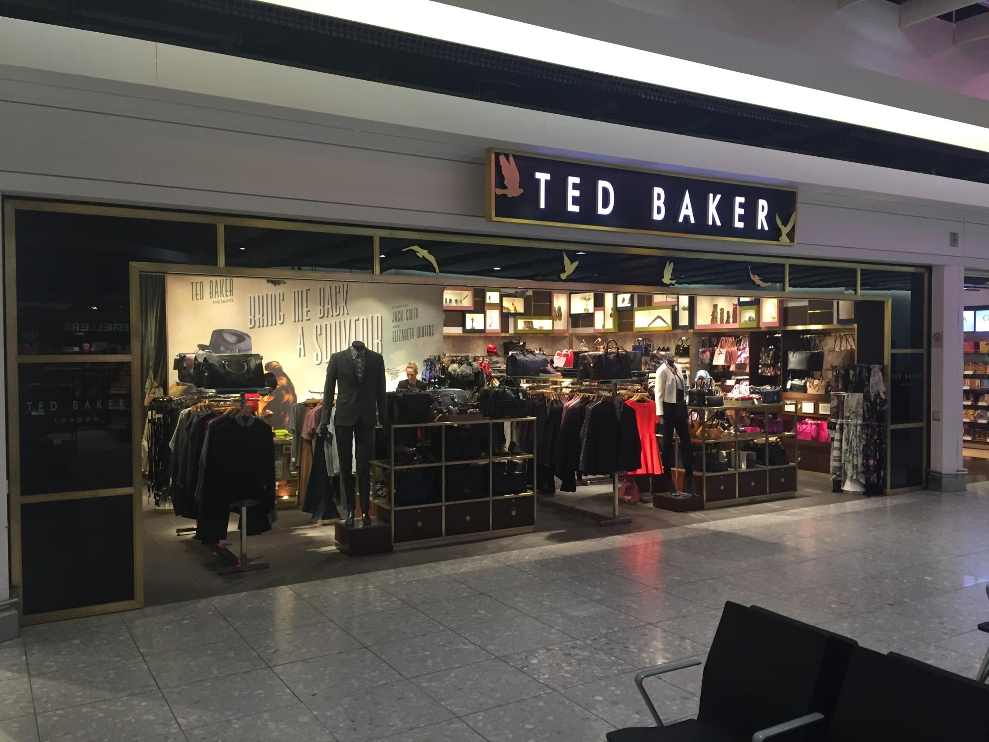Heathrow Ted Baker refit