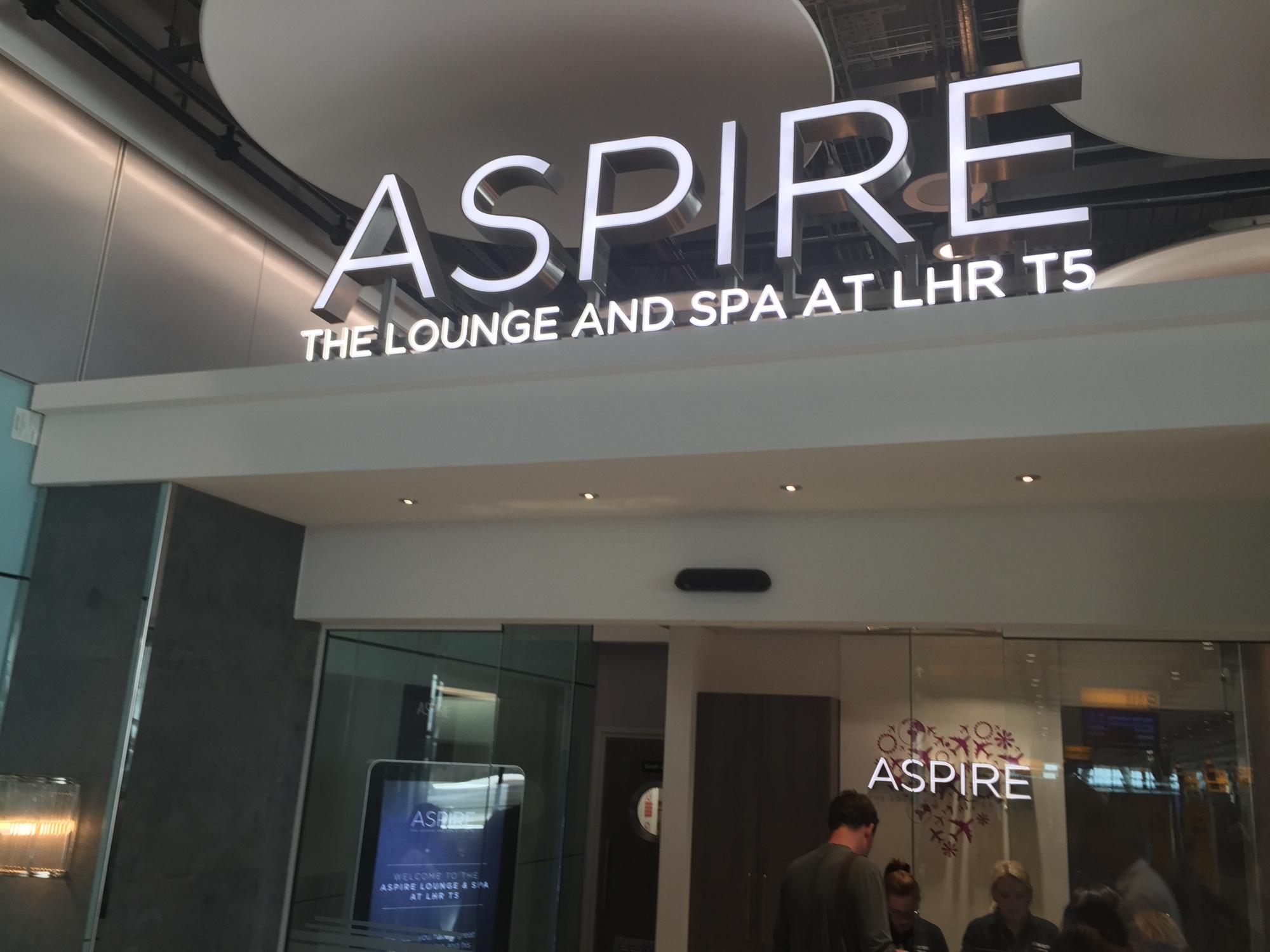 Heathrow T5 Aspire Lounge